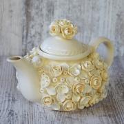 Чайник для заварки Гранди сливочный
