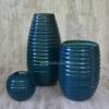 Набор керамических ваз Шантили синие