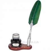 Набор для каллиграфии 2551-56 зеленое перо