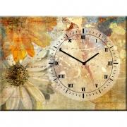 Часы настенные на холсте Безмятежность
