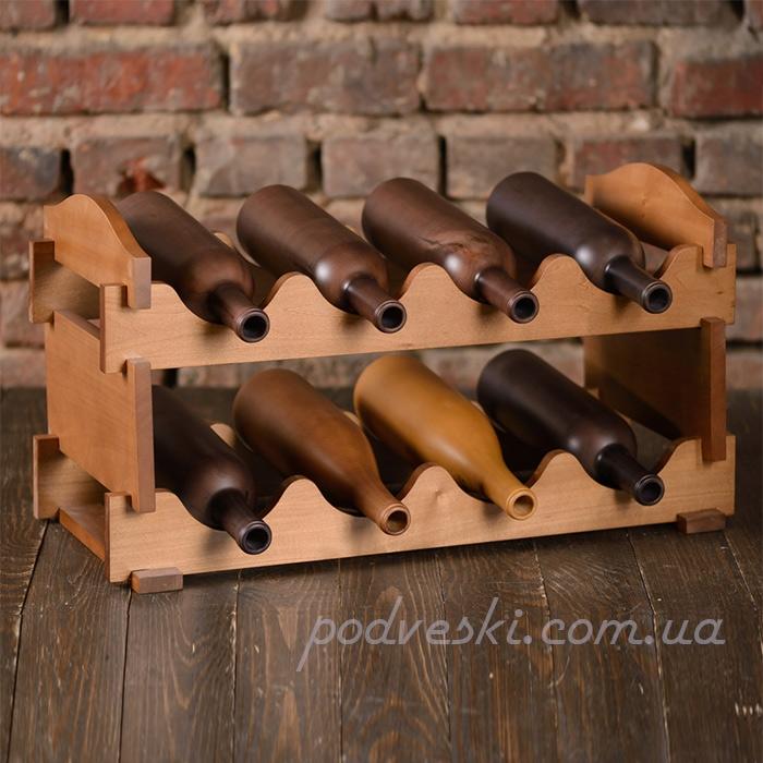 деревянная подставка для вина LOMOD декор кухни, подарок мужчине