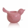 Декор Птичка подсвечник Eterna 2402-11 розовый