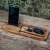 Деревянная подставка для телефона EcoWalNut Бизнес
