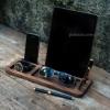 Деревянная подставка для телефона и планшета Дуэт