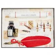 Набор для каллиграфии 530-36 красное перо