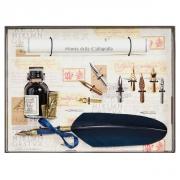 Набор для каллиграфии 530-36 синее перо