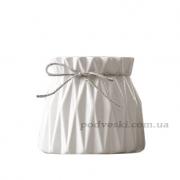 Керамическая ваза Eterna 2805-8 белая