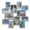 Мультирамка на 12 фото Путешествие Серебро