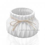 Керамическая ваза Eterna 2805-95 белая