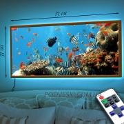 Картина с LED-подсветкой Аквариум-3