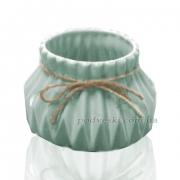 Керамическая ваза Eterna 2805-95 бирюза