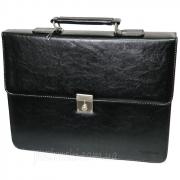 Портфель мужской кожзам 4U CavaldiB020139 черный