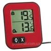 Термометр электронный TFA Moxx 30104305 красный
