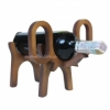 Подставка деревянная для вина Слон
