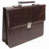 Портфель мужской кожзам 4U CavaldiB020139 коричневый