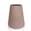 Ваза ETERNA Velvet рожева  5001-26