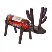 Подставка деревянная для вина Oлень