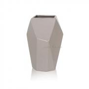 Керамическая ваза Полигональная 2501-18 beg