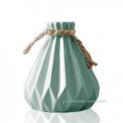 Керамическая ваза Eterna 2801-11 бирюза