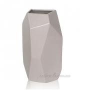 Керамическая ваза Полигональная 2502-21 beg