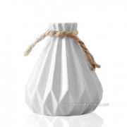Керамическая ваза Eterna 2801-11 белая