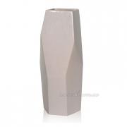 Керамическая ваза Полигональная 2503-34 beg
