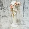 Ваза напольная Магнолия с золотом 40 см