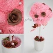 Топиарий Розы и шоколад
