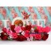 Цветы с конфетами для влюбленных Love