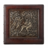 Фотоальбом кожаный Privilege Эдемский сад 35х35 см