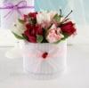 Букет из конфет в коробке Весна 3