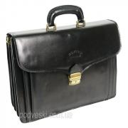 Портфель мужской кожаный Rovicky AWR-6 черный