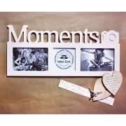 Мультирамка Moments беж на 3 фото