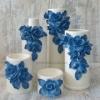 Набор ваз керамических ваз Grand Kerama Нео синий