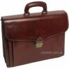 Портфель кожаный Rovicky AWR-6-2 темно-коричневый
