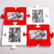Фоторамка-пазл: 2 Белых + 2 Красных