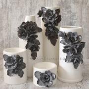 Набор ваз керамических ваз Grand Kerama Нео серый