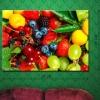Картина на холсте (пигментная печать) Фруктово-ягодный рай