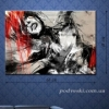 Картина на холсте (пигментная печать) Эмоции