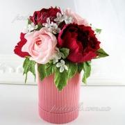 Букетик из конфет Комплимент розовый