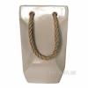 Керамическая ваза-сумка Eterna 2601-29 бежевая