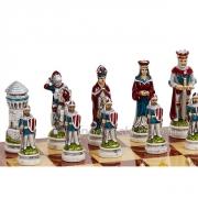 Шахматы подарочные Средневековье: набор фигур больших
