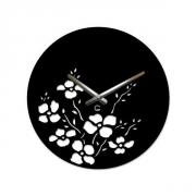 Настенные часы акриловые Glozis Букет 35 см