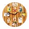 Настенные часы деревянные Ecowalnut  EW-26