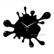 Настенные часы акриловые Glozis Клякса 49х39 см