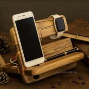 Деревянная подставка-органайзер EcoWalNut Унисекс iWatch