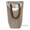 Керамическая ваза-сумка Eterna 2603-37 какао