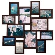 Мультирамка на 12 фотографий Путешествие Венге