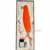 Набор для каллиграфии 7227-36 оранжевое перо
