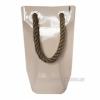Керамическая ваза-сумка Eterna 2603-37 беж